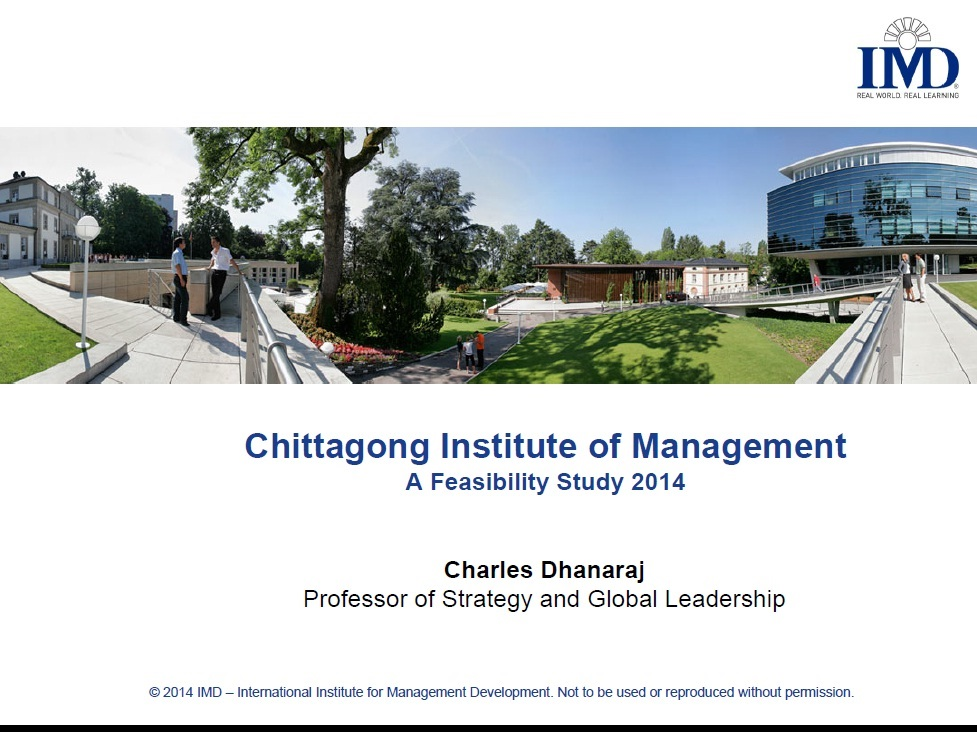 CHITTAGONG INSTITUTE OF MANAGEMENT